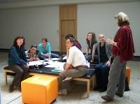 Intensive Gruppenarbeit bei IPM 2009
